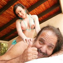 Jennifer White Nathalia pierced tongue young and old stinky finger jurassiccock cum on tits Ron Jeremy hardcore brunette