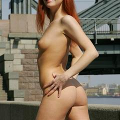 Caroline Katrin Piper plump pussy small tits fedorovhd freckles redhead fedorov shaved