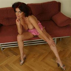 Jaroslava Marie incrediblecontent MILF and young pink dress hotplus redhead ugly old garment