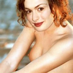 Anne Hathaway celebrity topless celeb naked nude