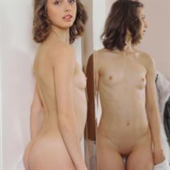 Clarice A Clarisse Elvira U nudecollect small tits open pussy blue eyes brunette met-art