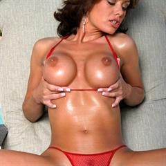Crissy Moran landing strip fuck me pumps smooth vulva spread labia allxxxbabes plump pussy clear heels bikiniriot seethrough