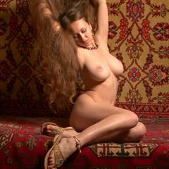 Aneli A hairycurves brunette natural met-art hairy busty