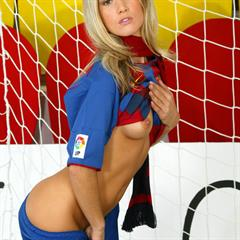 Jana H Olga secretvirgin from behind thick labia Barcelona football outdoor soccer blonde