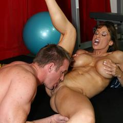 Devon Michaels Lisa Ann paperstreetcash therealworkout black panties cum on tits hardcore big fitness blowjob
