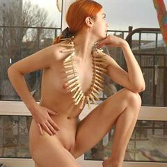 galitsin-news small tits Submissive redhead shaved xsmall 3wisp solo pegs sub