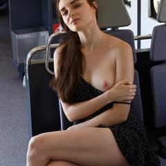 Vitalia Pugova babesource brunette upskirt shaved zishy