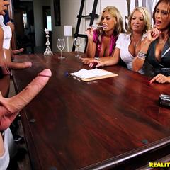Monique Fuentes Bridgette B Rachel Love realitykings cfnm secret cfnmsecret hardcore FFFMMM group