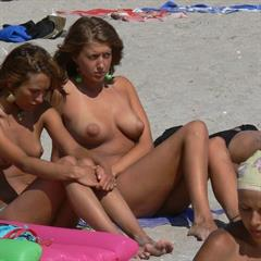 rudeslut outdoor nudist beach naturist outside