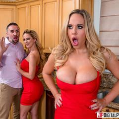 Cherie DeVille Olivia Austin pornparadize babesource high heels hardcore kitchen 2 girls upskirt blonde