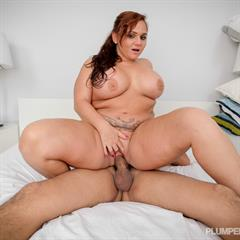 Betty Bang bad boobjob fake tits lesgalls brunette implants shaved tattoo fat BBW