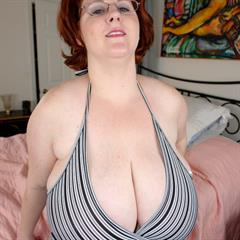 sensationalvideo huge hangers giant tits hardcore big bbwcult titfuck redhead mature