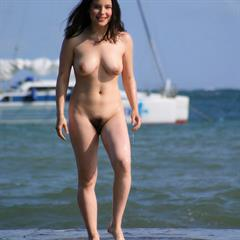 varia wet hair met-art outdoor splash guino hairy water babe solo