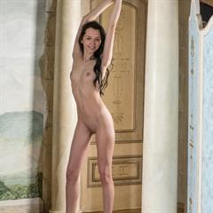 elitebabes brunette shaved natural pretty nice