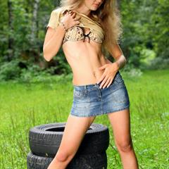 teengirl-pics brunette tanlines outdoor jolly a met-art petite shaved tires tyres