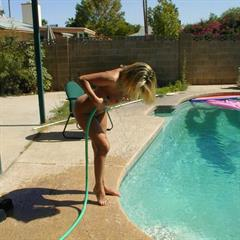 xfusioncash hosepipe 18 town blonde pool solo