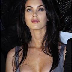 Megan Fox ultra-celebs nipple slip black hair celebrity nipslip celeb