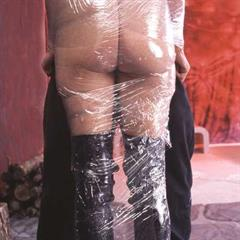 Saran Wrap plastic bdsmtraffic cling film clingfilm bondage wrapped BDSM tied