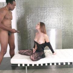 Jaye Summers Riley Reid Honey Gold adultdvdempire pierced tongue black on white bodystocking JulesJordan Aidra Fox mixed set