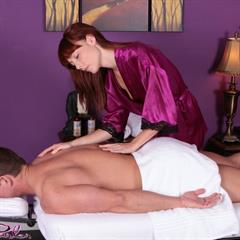 Zoe Voss MassageParlor massage-nuru small tits tiny blowjob massage redhead nuru