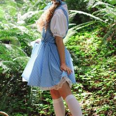 Dolly Little Ii thisyearsmodel wizard of oz perky tits pigtails cosplay redhead shaved