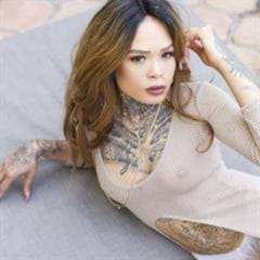 suicidegirlsnow SuicideGirls nonnude tattoo garden asian