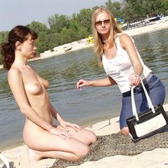 x-officer outdoor nudist beach naturist outside