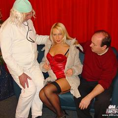 young and old erobilder christmas threesome hardcore footjob mature Xmas