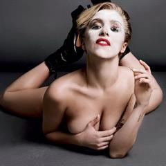 nudepictures4free celebrity Lady Gaga mixed set topless celeb naked nude