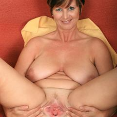 genitals pulled open 30yearsoldpussy big naturals pussy olderwomen spreaders tits brunette trimmed mature
