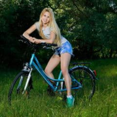 Belonika Kendell pinky nudecollect jean shorts small tits bicycle outdoor met-art blonde