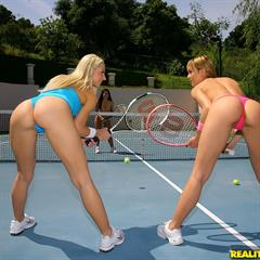 Sammie Rhodes Leah Parker welivetogether realitykings tennis court youngleafs Blue Angel hardcore lesbians pornstar
