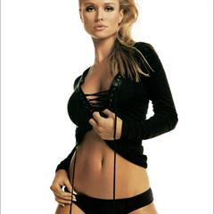 Joanna Krupa nonnude collage catalog blonde celeb mesh