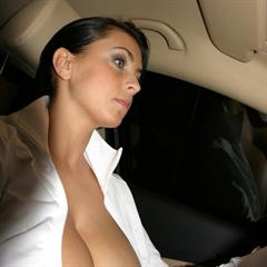 Ewa Sonnet bigboobsphotos dark nipple hair big tits driving nipslip nonnude busty jugs