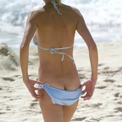 Uma Thurman celebrity-tgp paparazzi celebrity topless celeb naked beach nude outside