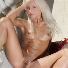 Adelia A Tessa E UHQ VHQ subirporno erotic excellence platinum blonde dark pussy lips small tits tiny