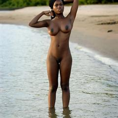 Deserea A met-art outdoor black Bayou beach tfpez ebony busty