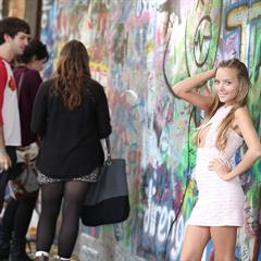 Katya Clover Caramel S Mango A preview lowres samples nude in public pinkfineart graffiti outdoor upskirt
