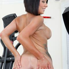 Isis Monroe naughty america naughtyamerica raven haired short hair fake tits implants tattoo shaved curvy