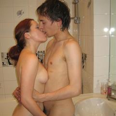 teenylovers hardcore bathroom amateur kissing blowjob redhead couple sister Winny