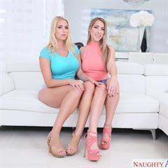 Vanessa Cage Kimber Lee mypornstarbook wedge heels pornstars