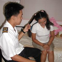filipinofuck filipino hardcore spanking filipina uniform police LBFM garment