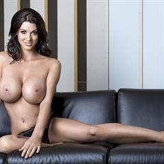Alice Goodwin hentairenai brunette big tits hand bra curvy
