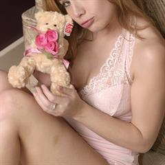 Ashley Brookes heartbreakers AshleyBrookes trimmed blonde teen solo