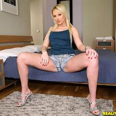 Nicole Evans mikesapartment realitykings cum on pussy jean shorts kinghost hardcore shaved blonde