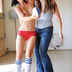 Jamee striped socks FTV girls FTVgirls ftvcash 2 shaved jeans trani teen