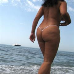 micro string bikini black hair anonymous faceless girlscv amateur ebony