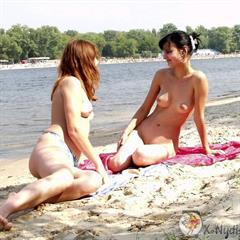 heger charlotte hegre x-nudisme fairpost x-nudism outdoor nudist beach lake naturist