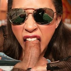 Aurora Jolie pornstarvixen cum on tits sunglasses hardcore blowjob fishnet mohawk anal cool