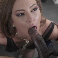 Maddy Oreilly wethornygirls brunette trimmed shaved black